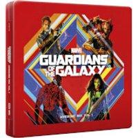 Guardianes de la Galaxia Vol. 1 - CD Steelbook Exclusivo de Zavvi