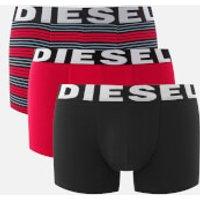Diesel Men's Shawn 3 Pack Boxers - Red Stripe - S - Red