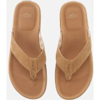 UGG Men's Braven Flip Flops - Chestnut - UK 7 - Tan