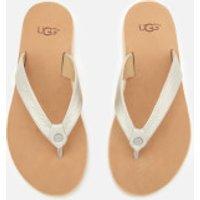 58b4ab04b UGG Women s Tawney Flip Flops - Silver - UK 5.5 - Silver by Ugg ...