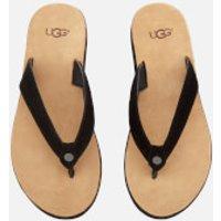UGG Women's Tawney Flip Flops - Black - UK 4 - Black