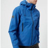 Superdry Mens Hooded Elite Windcheater Jacket - Electric Blue - XXL - Blue