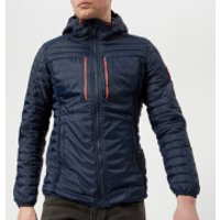 Superdry Mens Posh Sport Fuji Jacket - Navy - L - Navy