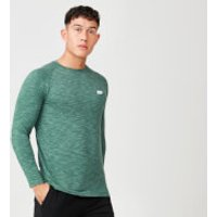 Performance Long-Sleeve Top - XXL - Dark Green Marl