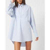 MM6-Maison-Margiela-Womens-Cotton-Stripe-Shirt-BlueWhite-Stripes-IT-40UK-8-Blue