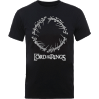 The Lord Of The Rings Black Men's T-Shirt - XXL - Black - Lord Of The Rings Gifts