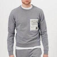 Maison Margiela Men's Cotton Stereotype Patch Sweatshirt - Shark - EU 48/M - Grey