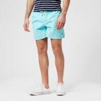 Polo Ralph Lauren Men's Traveler Swim Shorts - Hamm Blue - L - Blue