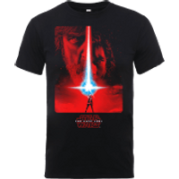 Star Wars The Last Jedi The Force Black T-Shirt - XXL - Black