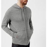 Lacoste Men's Zipped Hoody - Galaxite Chine - L - Grey