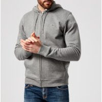Lacoste Mens Zip Through Hoody - Galaxite Chine - M - Grey