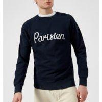 Maison Kitsune Men's Parisien Sweatshirt - Navy - XL - Navy