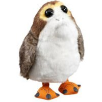 Star Wars Episode VIII Talking Plush Figure Porg (22cm) - Talking Gifts