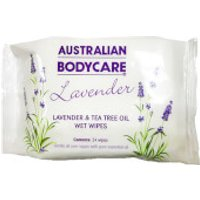 Australian Bodycare Lavender And Tea Tree Oil Wipes (24 Pack) (worth £4.50)