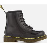 Dr. Martens Dr. Martens Toddlers' 1460 T Patent Limper Lace Up Boots - Black - UK 6 Kids