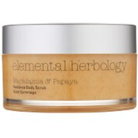 Elemental Herbology Macadamia and Papaya Body Scrub 200ml