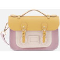 The Cambridge Satchel Company Womens Mini Satchel - Light Lilac/Yellow/Chalk