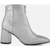 Rebecca Minkoff Women's Stefania Heeled Ankle Boots - Rock Grey - UK 6 - Grey