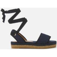 Castañer Worquidea Flat Espadrille Sandals - Azul Marino