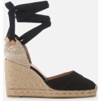 Castaner Women's Carina Wedged Sandals - Negro - UK 6 - Black