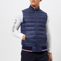 Polo Ralph Lauren Men's Double Knit Nylon Tech Gillet - French Navy - L - Navy