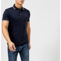 Polo Ralph Lauren Men's Pima Short Sleeve Polo Shirt - Cruise Navy - XXL - Navy