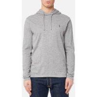 Polo Ralph Lauren Men's Hooded Long Sleeve T-Shirt - League Heather - XL - Grey