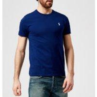 Polo Ralph Lauren Men's Basic Crew Neck Short Sleeve T-Shirt - Fall Royal - XL - Blue