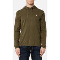 Polo Ralph Lauren Men's Hooded Long Sleeve T-Shirt - Defender Green - XXL - Green