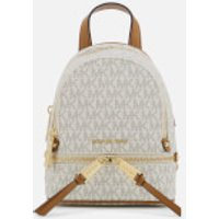 MICHAEL MICHAEL KORS Womens Extra Small Messenger Backpack - Vanilla