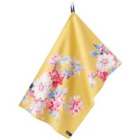 Joules Thea Tea Towel - 2 Pack - Yellow Whitstable Floral