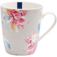 Joules Single China Mug - Grey Whitstable Floral
