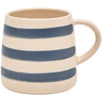 Joules Stoneware Single Mug - French Navy Stripe