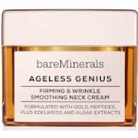 Crema reafirmante y antiarrugas para el cuello Ageless Genius de bareMinerals 50 g