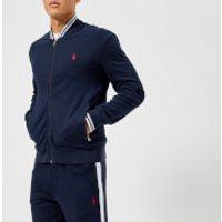 Polo Ralph Lauren Men's Tipped Baseball Jacket - Cruise Navy - XXL - Navy