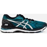 Asics Running Mens Gel-Nimbus 20 Trainers - Island Blue/White/Black - UK 9 - Blue