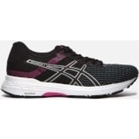Asics Running Women's Gel-Phoenix 9 Trainers - Black/Silver/Fuchsia Red - UK 4 - Black