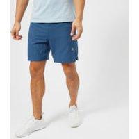Asics Running Mens 2-in-1 7 Inch Shorts - Dark Blue Heather - L - Blue