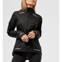 Asics Running Women's Lite Show Jacket - Performance Black - L - Black