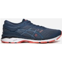 Asics Mens Gel-Kayano 24 Trainers - Smoke Blue/Smoke Blue/Dark Blue - UK 9.5 - Blue