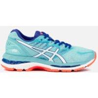 Asics Running Women's Gel-Nimbus 20 Trainers - Porcelain Blue/White/Asics Running Blue - UK 4 - Blue
