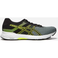Asics Running Mens Gel-Phoenix 9 Trainers - Stone Grey/Black/Safety Yellow - UK 10.5 - Grey