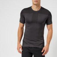 Asics Running Mens Cool Short Sleeve Seamless T-Shirt - Dark Grey - S - Grey