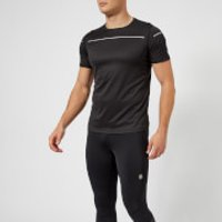 Asics Running Mens Lite Show Short Sleeve Top - Performance Black - XXL - Black