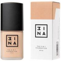 3INA Makeup 3-In-1 Foundation 30ml (Various Shades) - 201