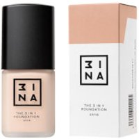 3INA Makeup 3-In-1 Foundation 30ml (Various Shades) - 202
