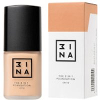 3INA 3-in-1 Foundation 30ml (Various Shades) - 212