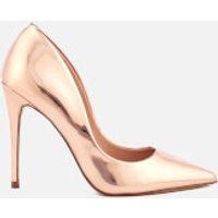 Steve Madden Steve Madden Women's Daisie Leather Court Shoes - Rose Gold - UK 7 - Gold