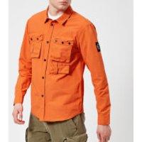 Marshall Artist Mens 60/40 Hiking Overshirt - Orange - L - Orange