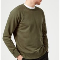 Our Legacy Men's 50's Sweatshirt - Olive - M - Green